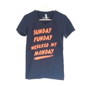 American Apparel Sunday Funday Graphic Te…